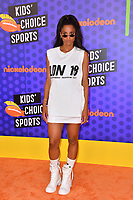 Ciara at the Nickelodeon Kids' Choice Sports Awards 2018 at Barker Hangar, Santa Monica, USA 19 July 2018<br /> Picture: Paul Smith/Featureflash/SilverHub 0208 004 5359 sales@silverhubmedia.com