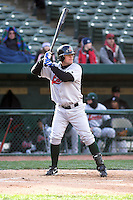 April 5, 2007:  Matt Berezay of the Great Lakes Loons at Coveleski Stadium in South Bend, IN.  Photo by:  Chris Proctor/Four Seam Images