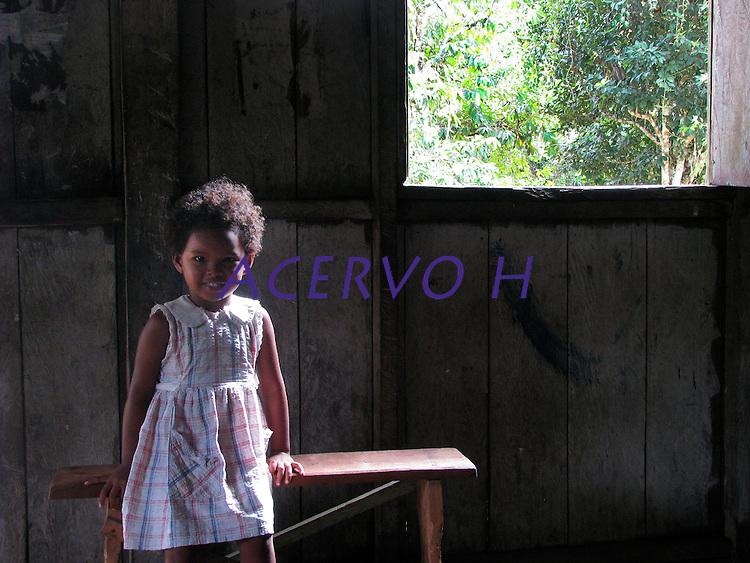 Moradores de comunidades quilombolas do rio Erepecuru.<br /> Foto Roberta Ramos<br /> 2012