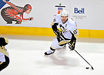 6 February 2010: Pittsburgh Penguins' center and Team Captain Sidney Crosby in action against the Montreal Canadiens at the Bell Centre in Montreal, Quebec, Canada. The Canadiens defeated the Penguins 5-3. Mandatory Credit: Ed Wolfstein Photo