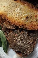 Europe/France/Midi-Pyrénées/46/Lot/Vallée du Lot/Cahors: Croustadous tartinés aux truffes chez Pebeyre