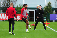 Ashley Williams of Wales during the Wales Training Session at The Vale Resort in Cardiff, Wales, UK. Saturday 12 October 2019