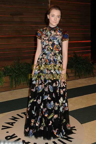 02 March 2014 - West Hollywood, California - Saoirse Ronan. 2014 Vanity Fair Oscar Party following the 86th Academy Awards held at Sunset Plaza. <br /> CAP/ADM/BP<br /> &copy;Byron Purvis/AdMedia/Capital Pictures