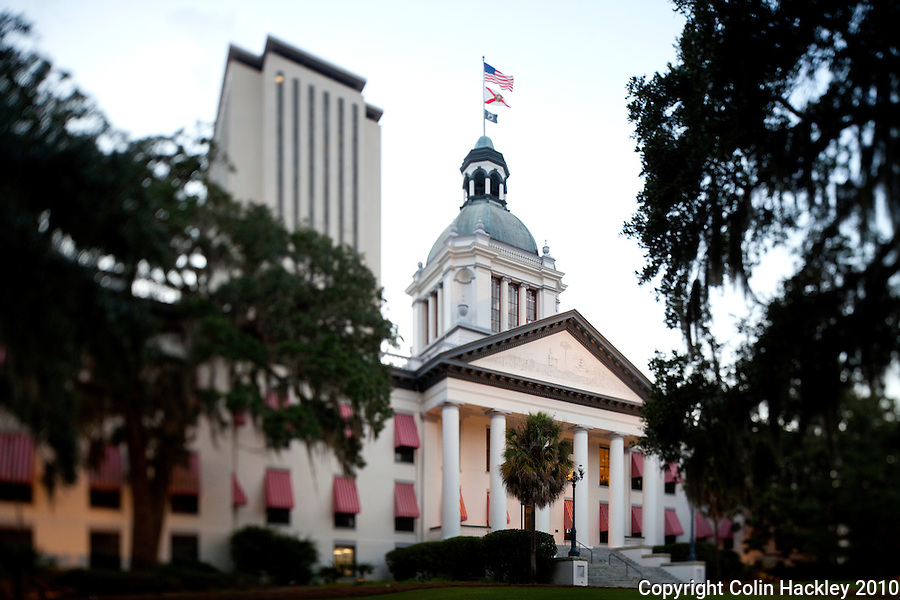 TALLAHASSEE, FLA.10/11/10-OLDCAPITOL 101110 CH-Florida's Old Capitol and Capitol buildings in Tallahassee...COLIN HACKLEY PHOTO
