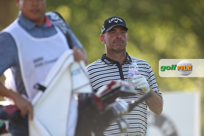Thomas BJORN (DEN) during Round One of the 2015 BMW PGA Championship over the West Course at Wentworth, Virginia Water, London. 21/05/2015Picture David Lloyd, www.golffile.ie.