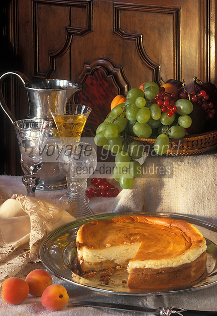 """Europe/Belgique/Flandre/Province d'Anvers/Anvers : Tarte au fromage blanc à l'élixir d'Anvers - Recette du chef du """"Vateli"""""""
