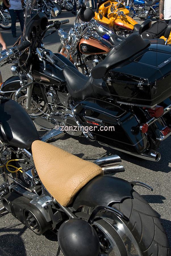Harley-Davidson, motorcycles kickstand down, Classic, American Heat, Palm Springs, CA, Motorcycle, & Hot Rod, Weekend