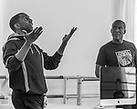 "Project Inspire with cast members of the ""Lion King"" Russell Brown and Kevin Petite.  Cary Ballet Conservatory 18 March 2016."