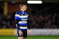 Darren Atkins of Bath Rugby looks on during a break in play. Aviva Premiership match, between Bath Rugby and Bristol Rugby on November 18, 2016 at the Recreation Ground in Bath, England. Photo by: Patrick Khachfe / Onside Images