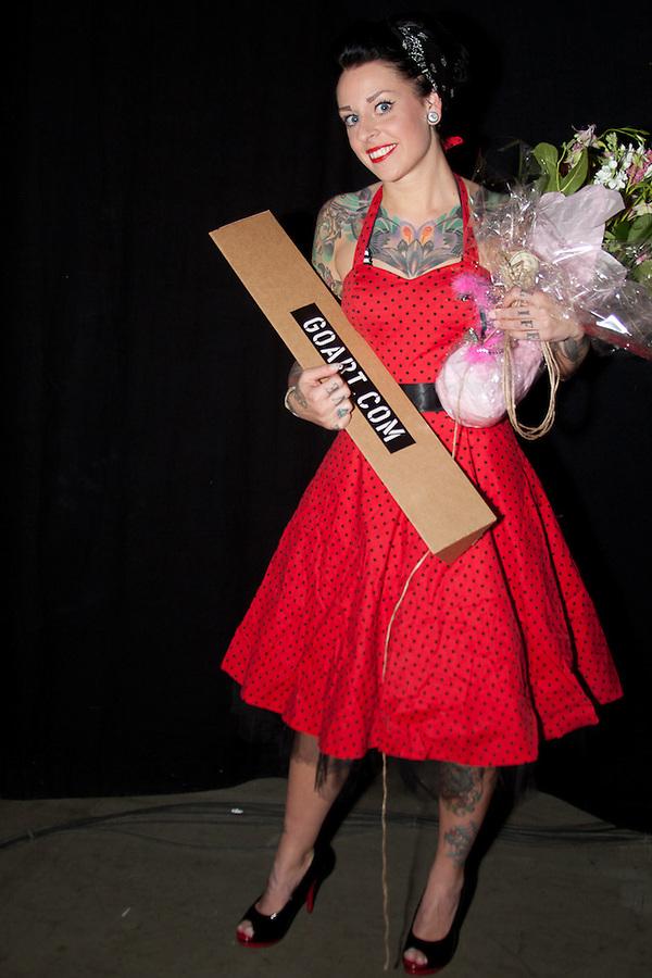 Copenhagen Inkfestival 2012. Miss Inkfestival 2012.