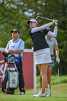 Kim Kaufman (USA) watches her tee shot on 12 during round 1 of  the Volunteers of America LPGA Texas Classic, at the Old American Golf Club in The Colony, Texas, USA. 5/4/2018.<br /> Picture: Golffile | Ken Murray<br /> <br /> <br /> All photo usage must carry mandatory copyright credit (&copy; Golffile | Ken Murray)