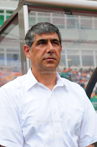 Afshin Ghotbi (S-Pulse), SEPTEMBER 17, 2011 - Football / Soccer : Shimizu S-Pulse head coach Afshin Ghotbi before the 2011 J.League Division 1 match between Shimizu S-Pulse 1-0 Urawa Red Diamonds at Ecopa Stadium in Shizuoka, Japan. (Photo by AFLO)