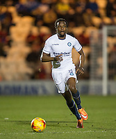 Marcus Bean of Wycombe Wanderers during the Sky Bet League 2 match between Colchester United and Wycombe Wanderers at the Weston Homes Community Stadium, Colchester, England on 21 February 2017. Photo by Andy Rowland / PRiME Media Images.