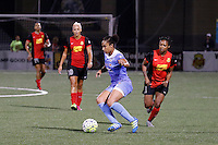 Rochester, NY - Friday July 01, 2016: Chicago Red Stars defender Casey Short (6) during a regular season National Women's Soccer League (NWSL) match between the Western New York Flash and the Chicago Red Stars at Rochester Rhinos Stadium.