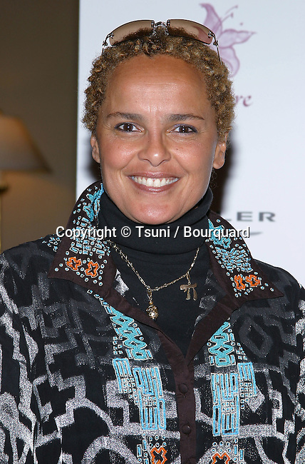 Shari Belafonte arriving at the Lili Claire Foundation 7th Annual Benefit Gala at the Century Plaza  in Los Angeles. November 16, 2004.