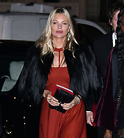 Kate Moss<br /> at National Portrait Gallery Gala 2019, London, England on 12 March 2019.<br /> CAP/JOR<br /> &copy;JOR/Capital Pictures