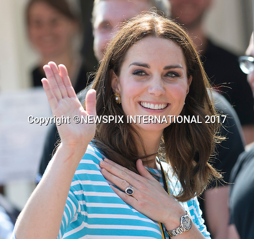 20.07.2017; Heidelberg, Germany: KATE MIDDLETON<br />