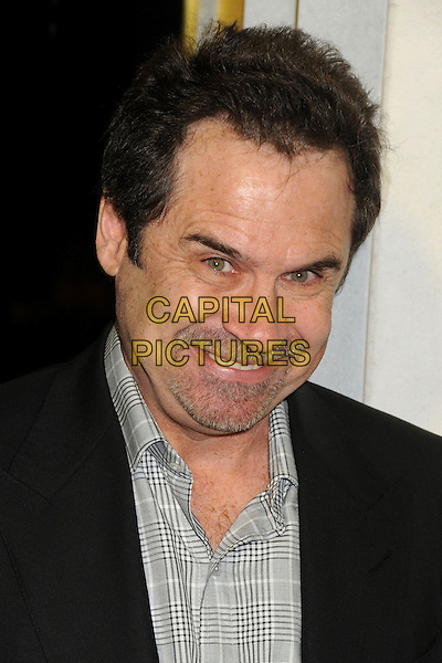 Dennis Miller.Tom Ford Cocktail Party held at the Tom Ford Store, Beverly Hills, California, USA..February 21st, 2013.headshot portrait black grey gray check shirt stubble facial hair.CAP/ADM/BP.©Byron Purvis/AdMedia/Capital Pictures.