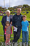 Long time patron of the Cahersiveen races  Paddy Cournane with his son Padraig and grandchildren Robyn & Luke.