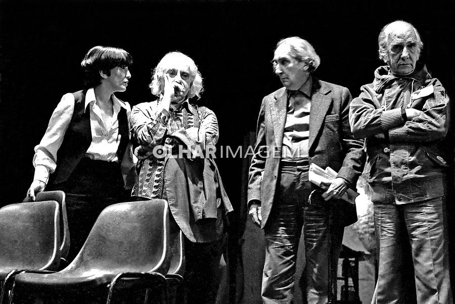Reunião do I Congresso Brasileiro pela Anistia. SP. 07.11.1979. Foto de Juca Martins.