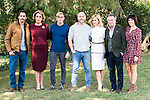 "Paco Leon, Rossy de Palma, Adrian Lastra, the director of the film, Vicente Villanueva, Alexandra Jimenez and Nuria Herrero pose to the photographers during the shooting of the spanish film ""Toc Toc"" in Madrid. October 03, Spain. 2016. (ALTERPHOTOS/BorjaB.Hojas)"