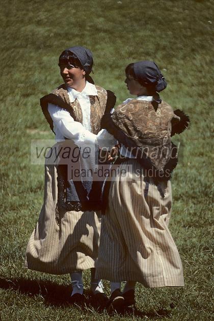 Europe/France/Aquitaine/40/Landes/Parc Naturel Régional des Landes de Gascogne/Mimizan: Danse folklorique