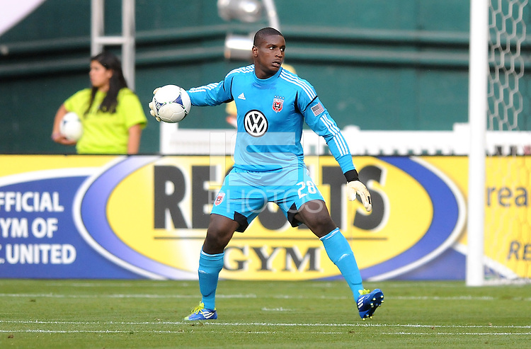 D.C. United goalkeeper Bill Hamid (28)  D.C. United defeated Toronto FC 3-1 at RFK Stadium, Saturday May 19, 2012.