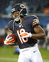 JOE ANDERSON (19), of the Chicago Bears, in action during the Bears preseason game against the Denver Broncos on August 9, 2012 at Soldier Field in Chicago, IL. The Broncos beat the Bears 31-3.