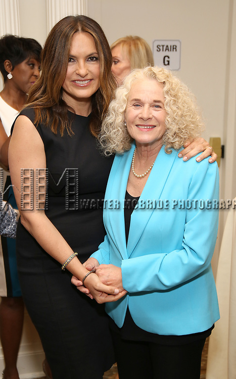 Mariska Hargitay and Carole King attends The 7th Annual Elly Awards at The Plaza Hotel on June 19, 2017 in New York City.
