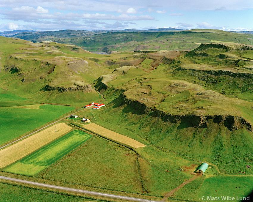 Smárahlíð séð til norðausturs, Hrunamannahreppur / Smarahlid viewing northeast, Hrunamannahreppur.