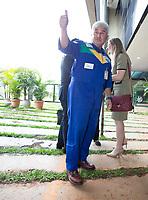 BRASILIA, DF, 06.12.2018 - MARCOS-PONTES- Marcos Pontes, futuro ministro da Ciência e Tecnologia, durante entrevista no CCBB, onde ocorre a transição do Governo, nesta quinta-feira, 06.(Foto:Ed Ferreira / Brazil Photo Press)