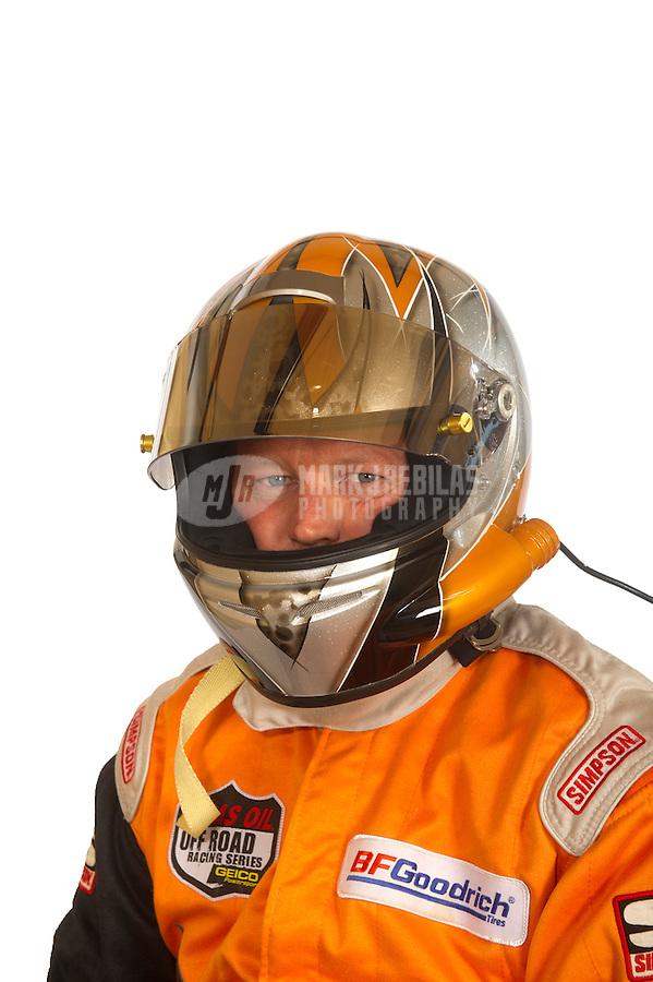 Mar. 18, 2011; Chandler, AZ, USA;  LOORRS driver Bruce Fraley poses for a portrait at Firebird International Raceway. Mandatory Credit: Mark J. Rebilas