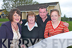 PLANS: Patricia Campion, Connie OLeary, Ken ONeill and Sinead Harrington from the Ballyspillane Resource Centre make plans after receiving a 1 million grant from the Government..