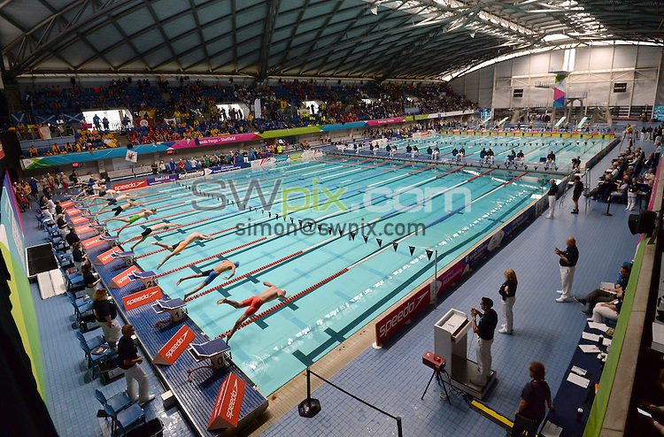 Picture by Anna Gowthorpe/SWpix.com - 23/10/2016 - Swimming - ASA National County Team Championships 2016 - Ponds Forge, Sheffield, England - General view of the action.