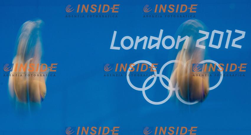 3 m. springboard synchro women final.London 2012 Olympics - Olimpiadi Londra 2012.day 03 July 29.Photo G.Scala/Deepbluemedia.eu/Insidefoto