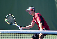 Yale Goldberg,with the Stanford Men's Tennis Team. Photo taken on Monday, September 23, 2013.