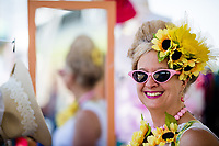 BALTIMORE, MD - MAY 19: Scenes from around the track on Black-Eyed Susan Day at Pimlico Race Course on May 19, 2017 in Baltimore, Maryland.(Photo by Douglas DeFelice/Eclipse Sportswire/Getty Images)