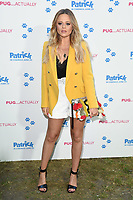 "Emily Atack<br /> arriving for the ""Patrick"" UK premiere, London<br /> <br /> ©Ash Knotek  D3411  27/06/2018"