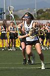 Santa Barbara, CA 02/18/12 - Meggan Weinell  (Cal Poly SLO #27) in action during the 2012 Santa Barbara Shootout.  Colorado defeated Cal Poly SLO 8-7.