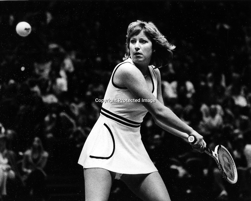 Tennis star Chris Evert<br />