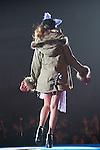 November 8, 2012, Tokyo, Japan - Japanese model Triendl Reina poses on the catwalk during Girls Award 2012 Autumn/Winter at the Yoyogi National Gymnasium in Shibuya, Japan. (Photo by Yumeto Yamazaki/Nippon News)
