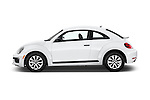 Car Driver side profile view of a 2017 Volkswagen Beetle S 3 Door Hatchback Side View