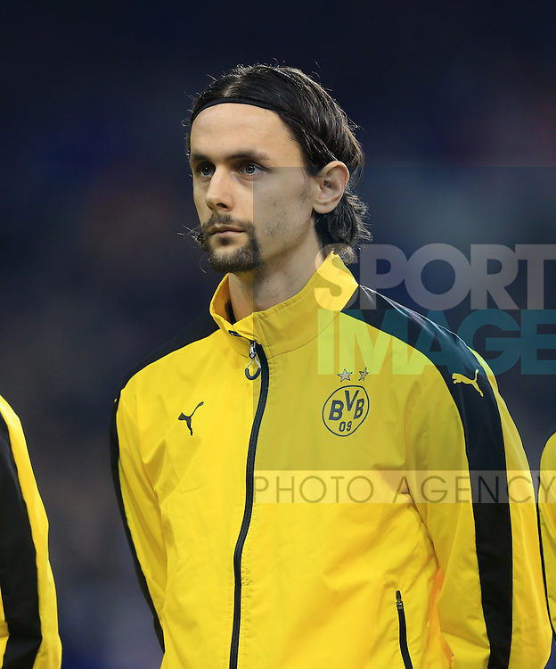 Dortmund's Neven Subotic in action during the Europa League match at White Hart Lane Stadium.  Photo credit should read: David Klein/Sportimage
