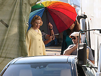"Nicole Kidman on "" Grace of Monaco "" movie set - France"