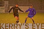 Ballymac's Padraig McCarthy and Balloonagh's Shane Scanlon.