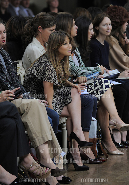 Rachel Stevens at Julian MacDonald Fashion Show, Banquetting Hall Whitehall, London Fashion Week. 19/09/2010  Picture by: Simon Burchell / Featureflash.