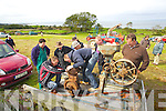 Pictured at the Camp vintage fair on Sunday,