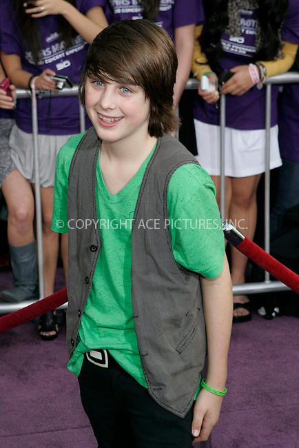WWW.ACEPIXS.COM . . . . . ....February 24 2009, LA....Sterling Beaumon at the World Premiere of Walt Disney Pictures' 'Jonas Brothers: The 3D Concert Experience' on February 24, 2009 at the El Capitan Theatre in Hollywood, California.....Please byline: JOE WEST - ACEPIXS.COM....Ace Pictures, Inc:  ..(212) 243-8787 or (646) 679 0430..e-mail: picturedesk@acepixs.com..web: http://www.acepixs.com