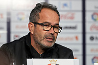 Alvaro Cervera (coach; Cádiz CF) during the Spanish football of La Liga 123, match between CA Osasuna and AD Alcorcón at the Sadar stadium, in Pamplona (Navarra), Spain, on Sunday, January 6, 2019.
