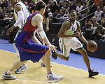 Euroleague el FC Barcelona guanya 83 -82 al Panathinaikos en el primer partit del playoff. Nicholas Drew supera Fran